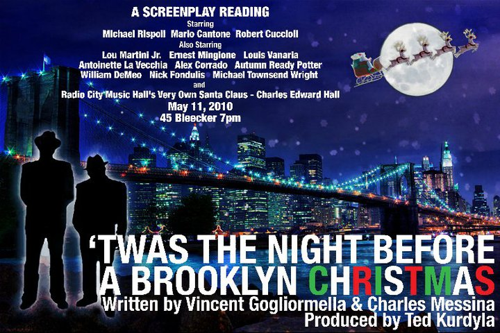 Michael Townsend Wright in 'Twas The Night Before A Brooklyn Christmas